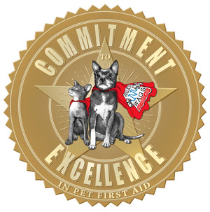 Pet First Aid Commitment to Excellence